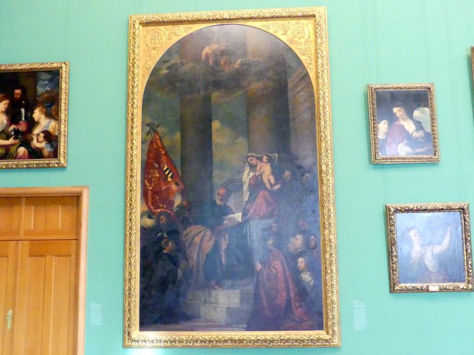 August Wolf: Die Madonna des Hauses Pesaro, 1872