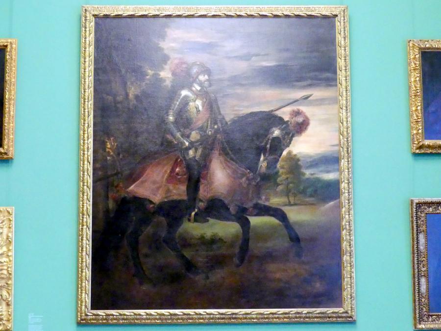 Franz von Lenbach: Kaiser Karl V. nach der Schlacht bei Mühlberg, 1868