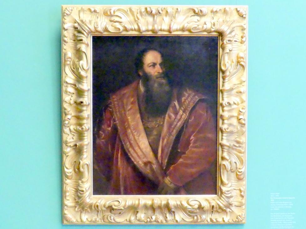 Franz von Lenbach: Pietro Aretino, 1866