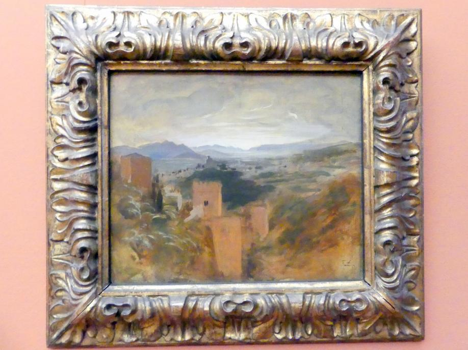 Franz von Lenbach: Die Vega von Granada, 1868