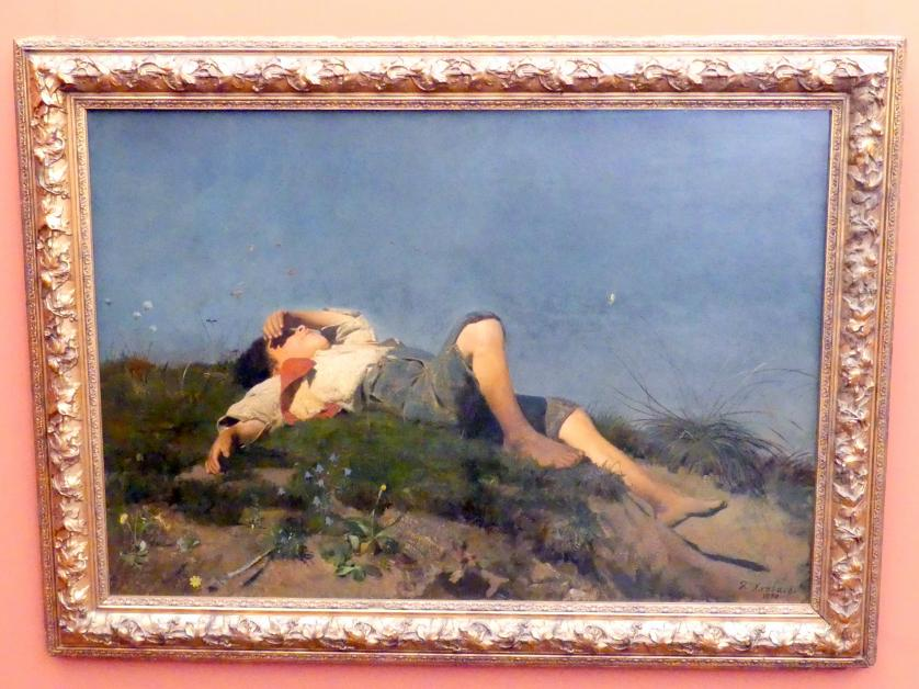 Franz von Lenbach: Hirtenknabe, 1860