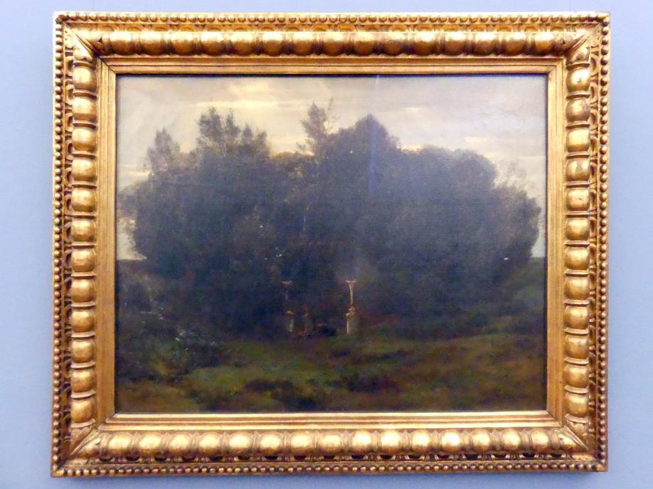 Arnold Böcklin: Ein heiliger Hain, Um 1871