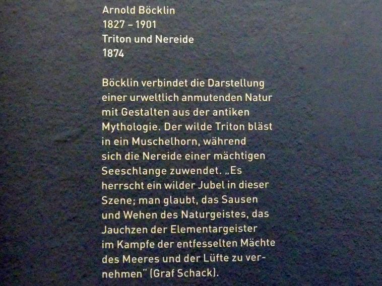Arnold Böcklin: Triton und Nereide, 1874