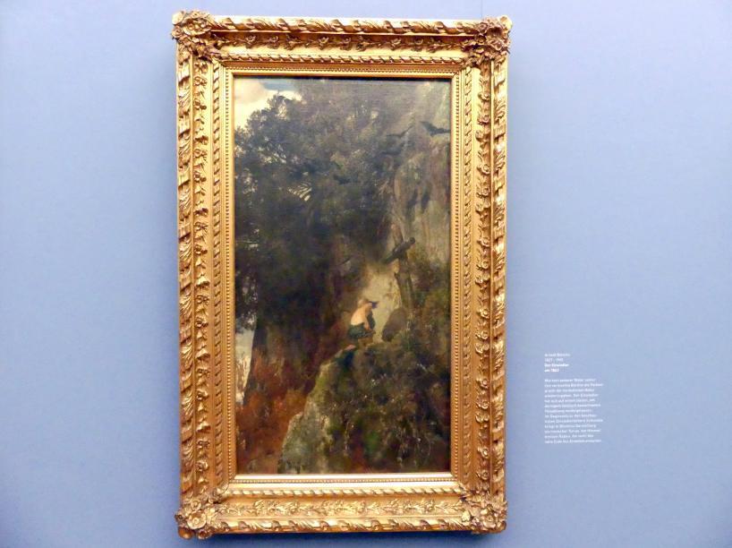 Arnold Böcklin: Der Einsiedler, Um 1863