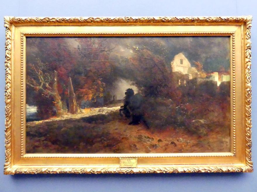 Arnold Böcklin: Der Ritt des Todes, 1871