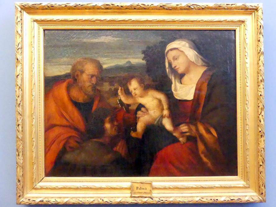 Hans von Marées: Madonna mit dem heiligen Petrus und einem Stifter, 1865