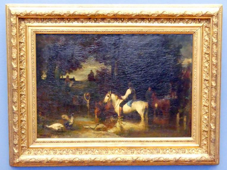 Hans von Marées: Die Schwemme, 1864