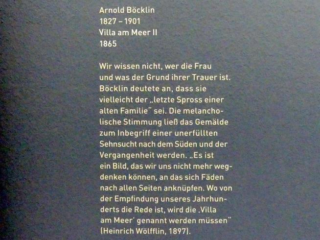 Arnold Böcklin: Villa am Meer II, 1865