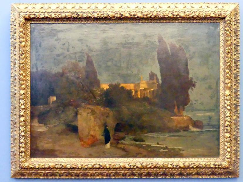 Arnold Böcklin: Villa am Meer I, 1864
