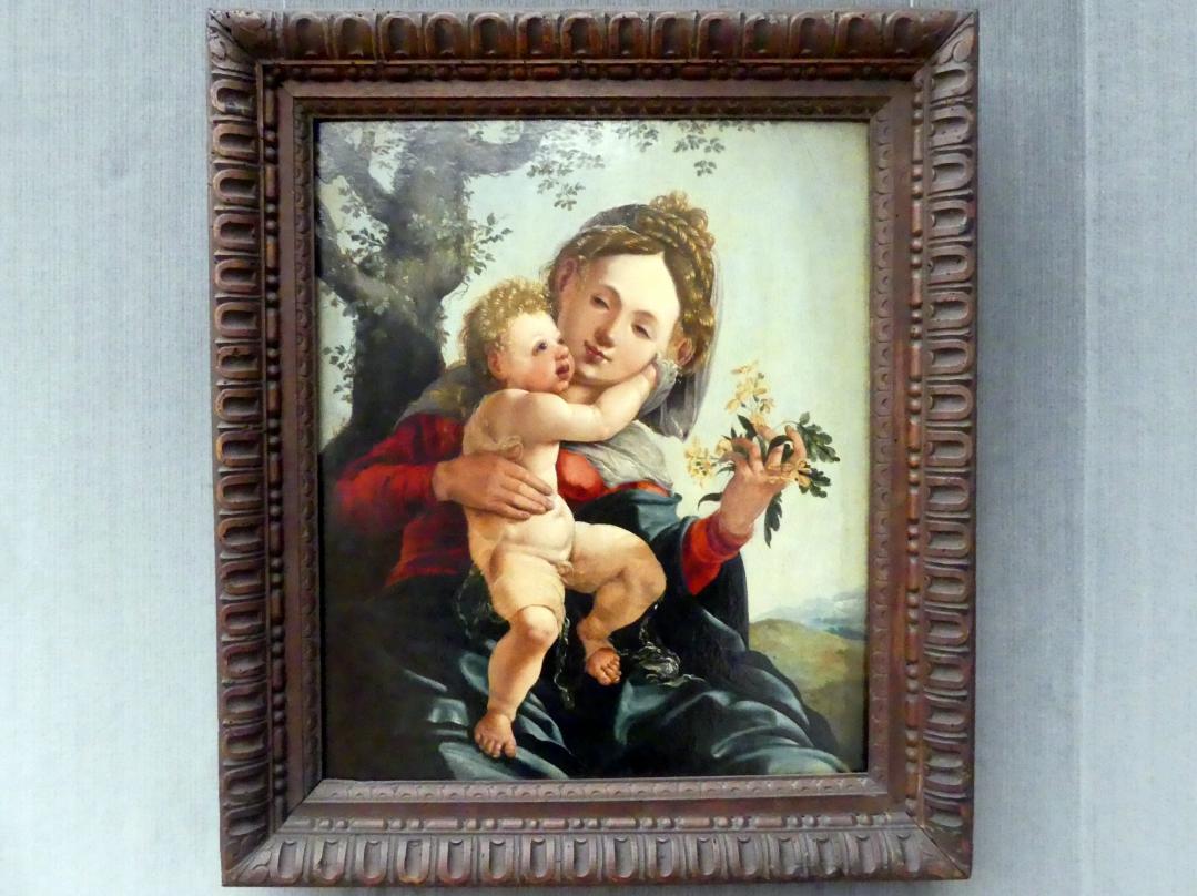 Jan van Scorel (Werkstatt): Die Madonna mit den Feldblumen, um 1527 - 1529