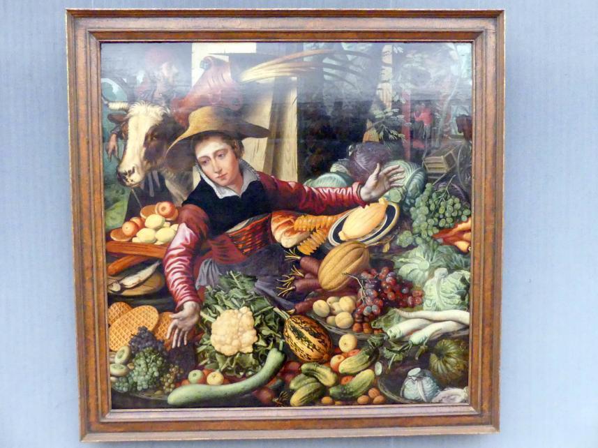 Pieter Aertsen: Marktfrau am Gemüsestand, 1567