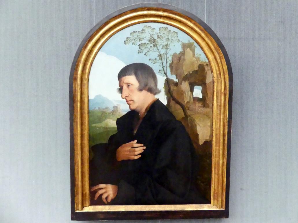 Jan van Scorel: Bildnis eines Mannes, Um 1530