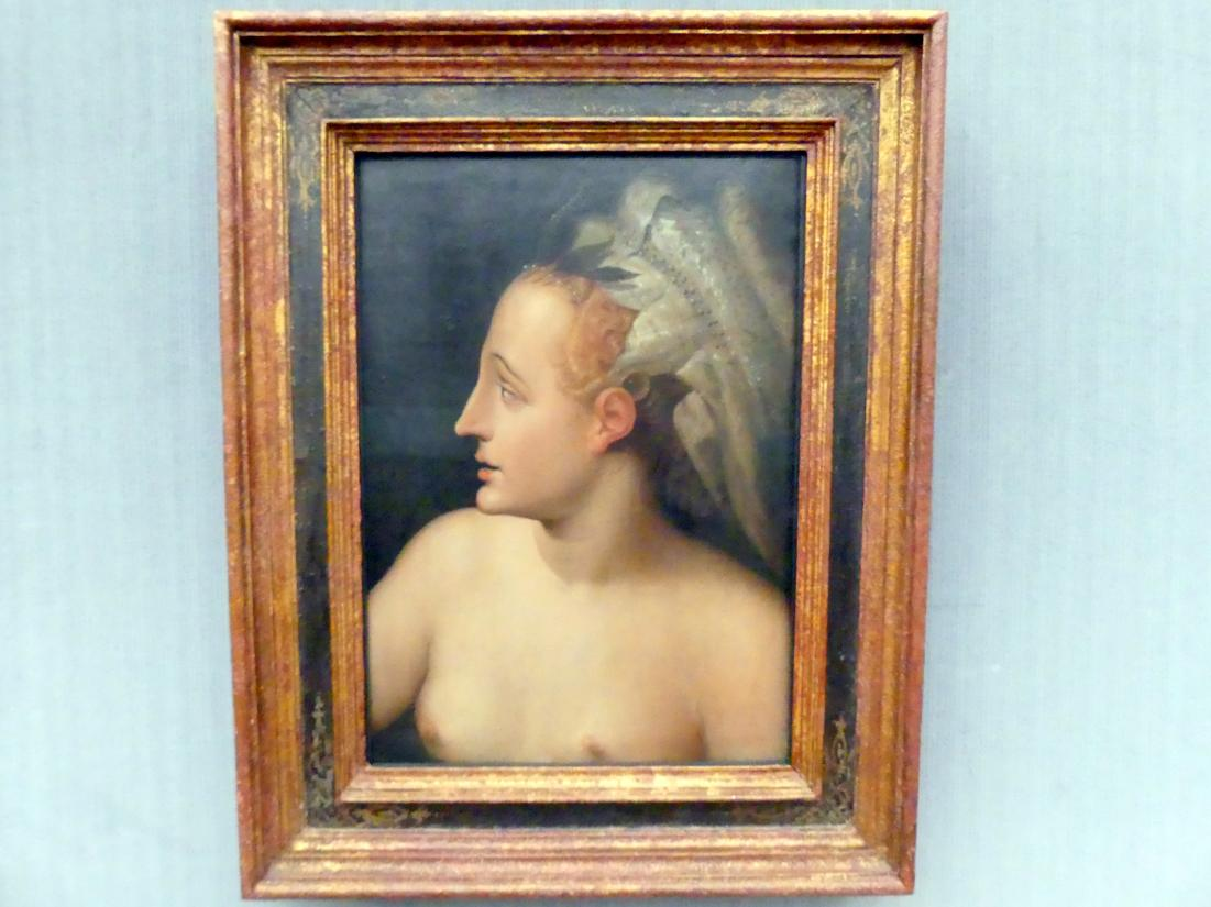 Frans Floris de Vriendt (Werkstatt): Kopf einer Meeresgöttin, Undatiert