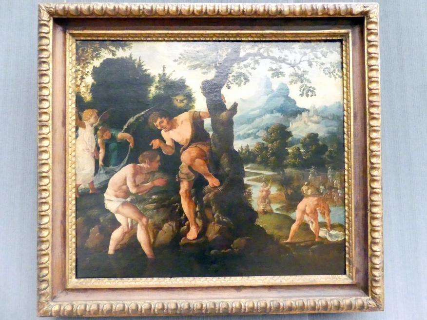 Maarten van Heemskerck: Die Taufe Christi, vor 1532