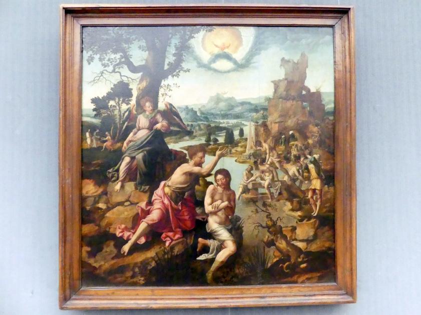 Jan van Scorel (Nachfolge): Die Taufe Christi, um 1540