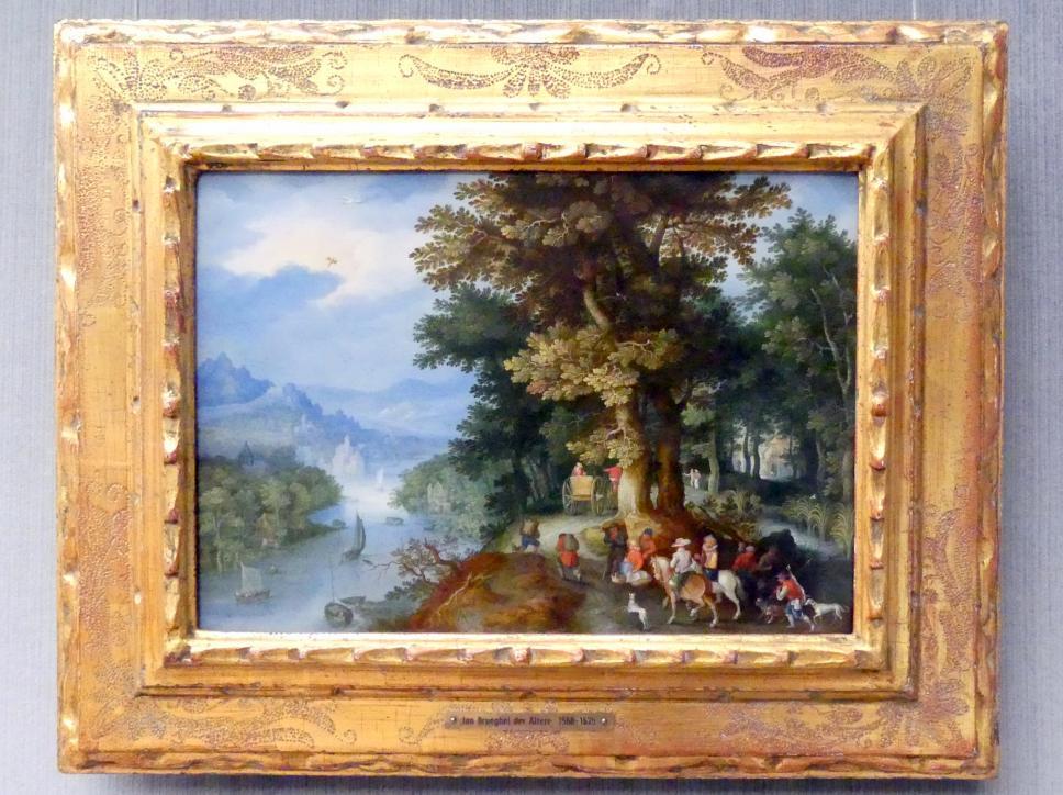 Jan Brueghel der Ältere (Blumenbrueghel): Rückkehr von der Jagd, Undatiert