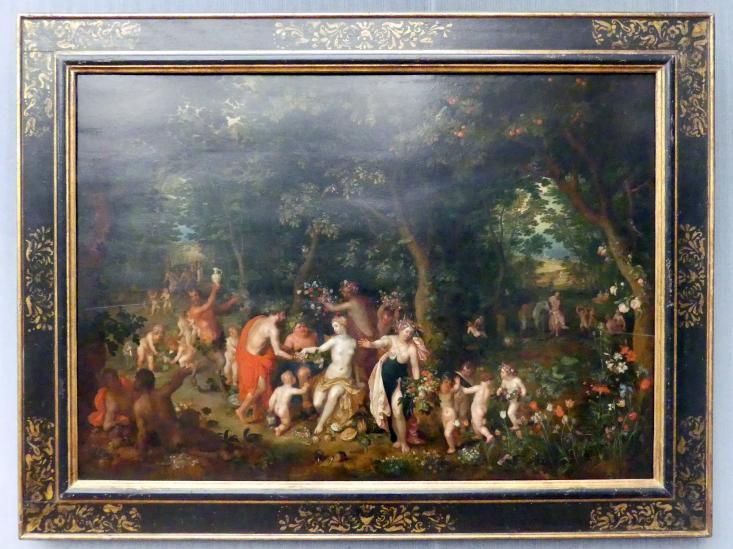 Jan Brueghel der Jüngere: Das Fest des Bacchus, Undatiert