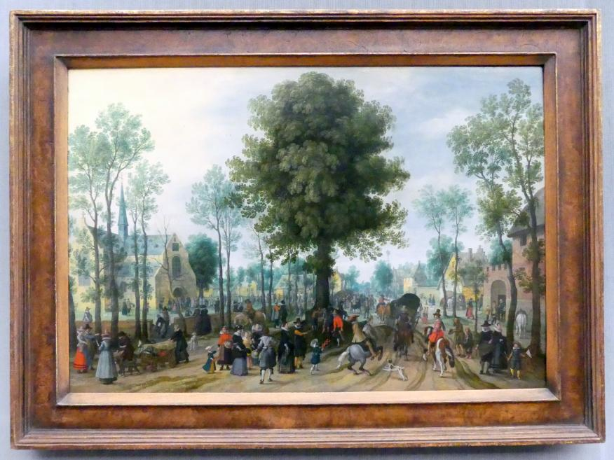 Sebastian Vrancx: Flämische Kirmes, Undatiert