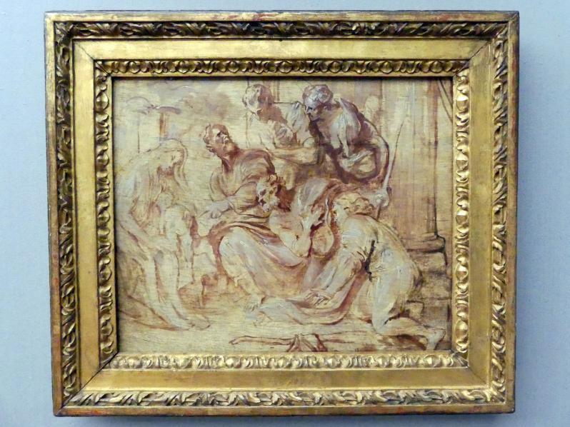 Anthonis (Anton) van Dyck: Die Anbetung der Hirten, um 1626 - 1628