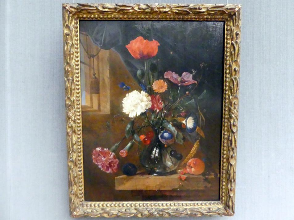 Jan Davidsz. de Heem: Blumenstrauß in einer Glasvase, Undatiert