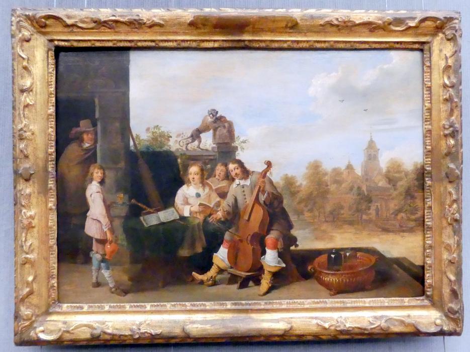 David Teniers der Jüngere: Der Maler mit seiner Familie, 1645 - 1646
