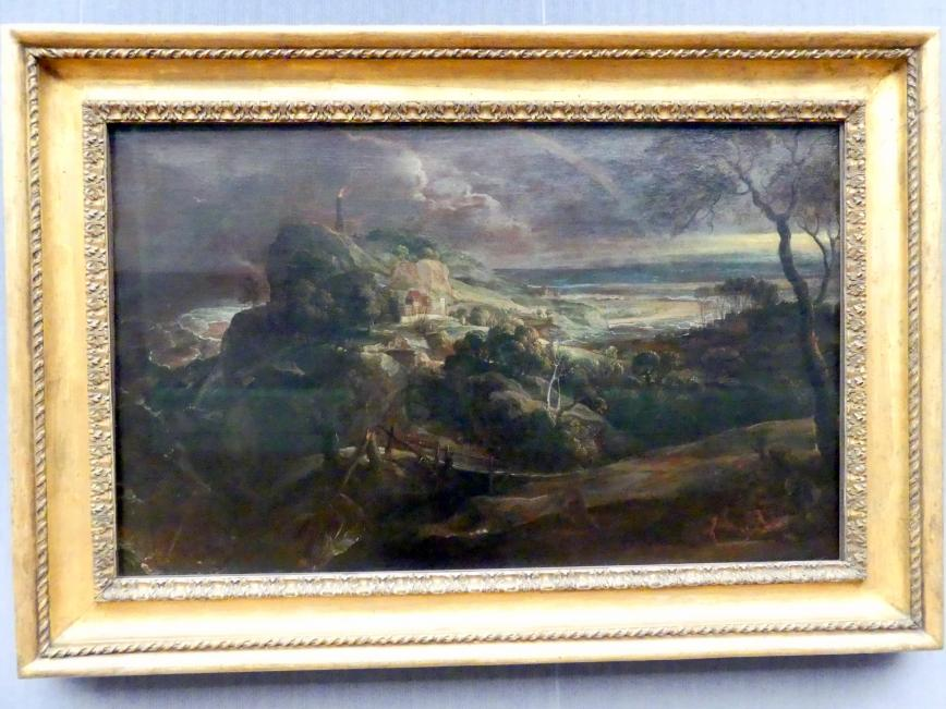 Peter Paul Rubens: Landschaft mit dem Schiffbruch des Paulus, um 1620 - 1625