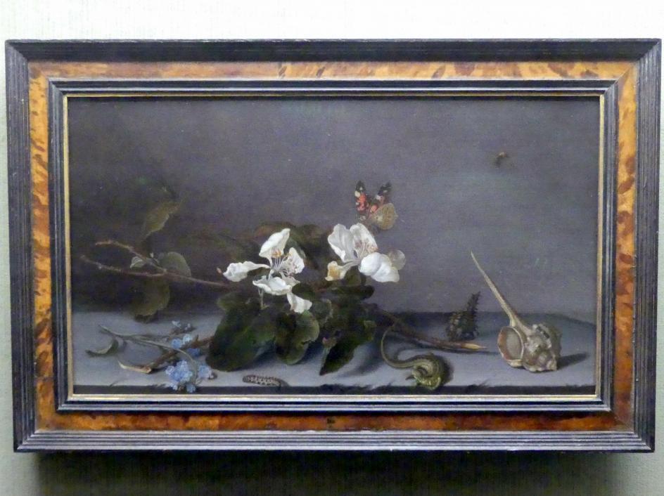 Balthasar van der Ast: Stillleben mit Apfelblütenzweig, Undatiert