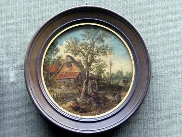 Esaias van de Velde: Bollwerk am Kanal, um 1600