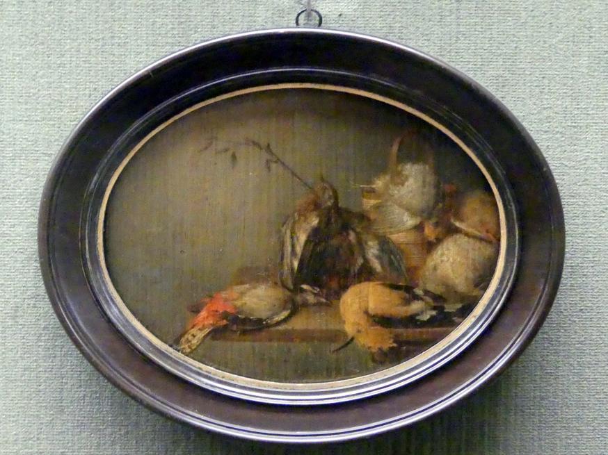Philips Angel: Stillleben mit toten Vögeln, 1650