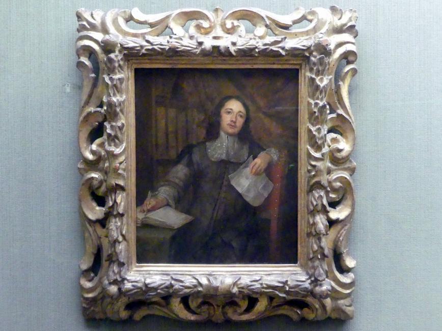 Gonzales Coques: Der Kunstschriftsteller Cornelis de Bie (1627-1711), Undatiert