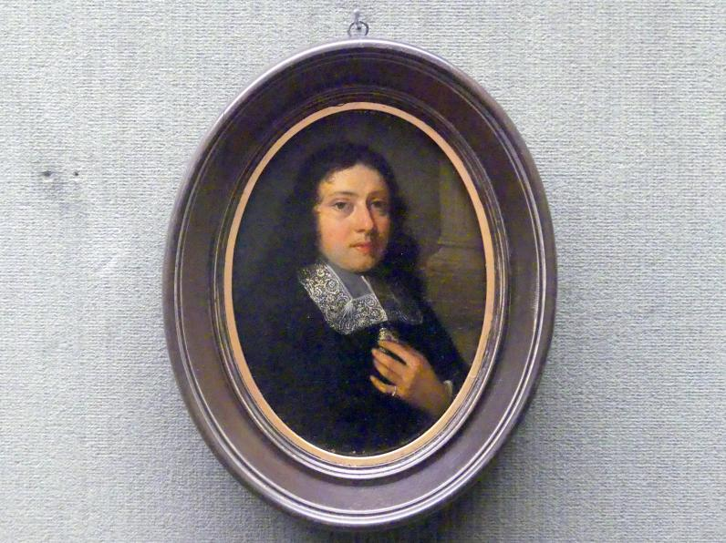 Pieter Cornelisz van Slingelandt: Bildnis eines jungen Mannes, Undatiert