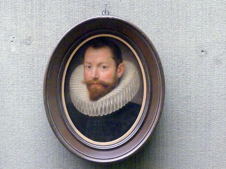 Michiel van Mierevelt: Bildnis eines jungen Mannes, 1624