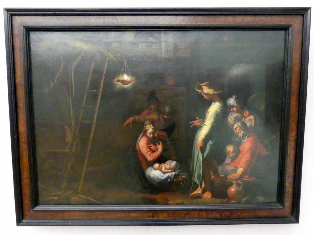 Abraham Bloemaert: Die Anbetung der Hirten, um 1604