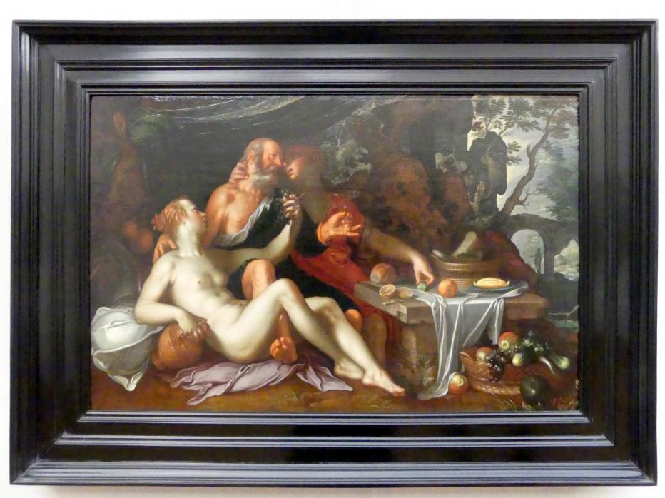 Joachim Anthonisz. Wtewael: Loth und seine Töchter, Undatiert