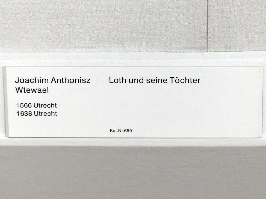 Joachim Anthonisz. Wtewael: Loth und seine Töchter, Undatiert, Bild 2/2