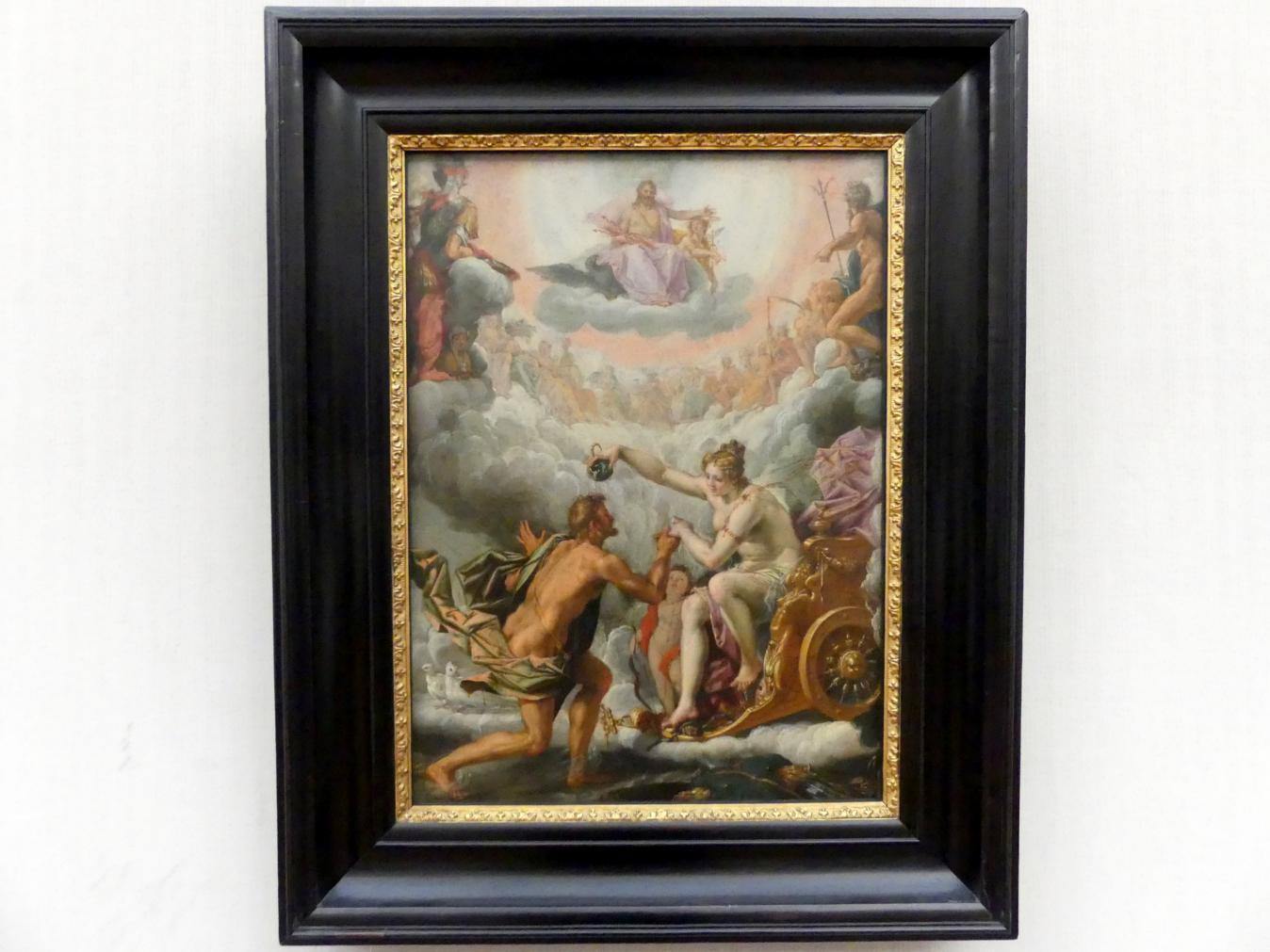Peter Candid (Pieter de Witte): Aeneas wird von Venus in den Olymp aufgenommen, Undatiert