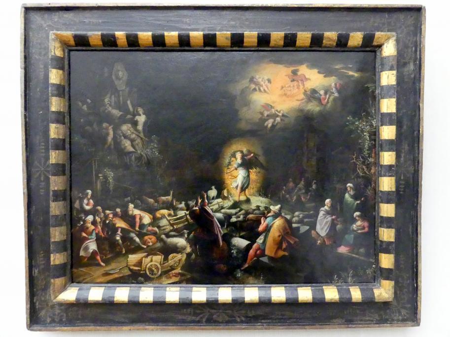 Willem van Nieulandt II: Die Verkündigung an die Hirten, 1607