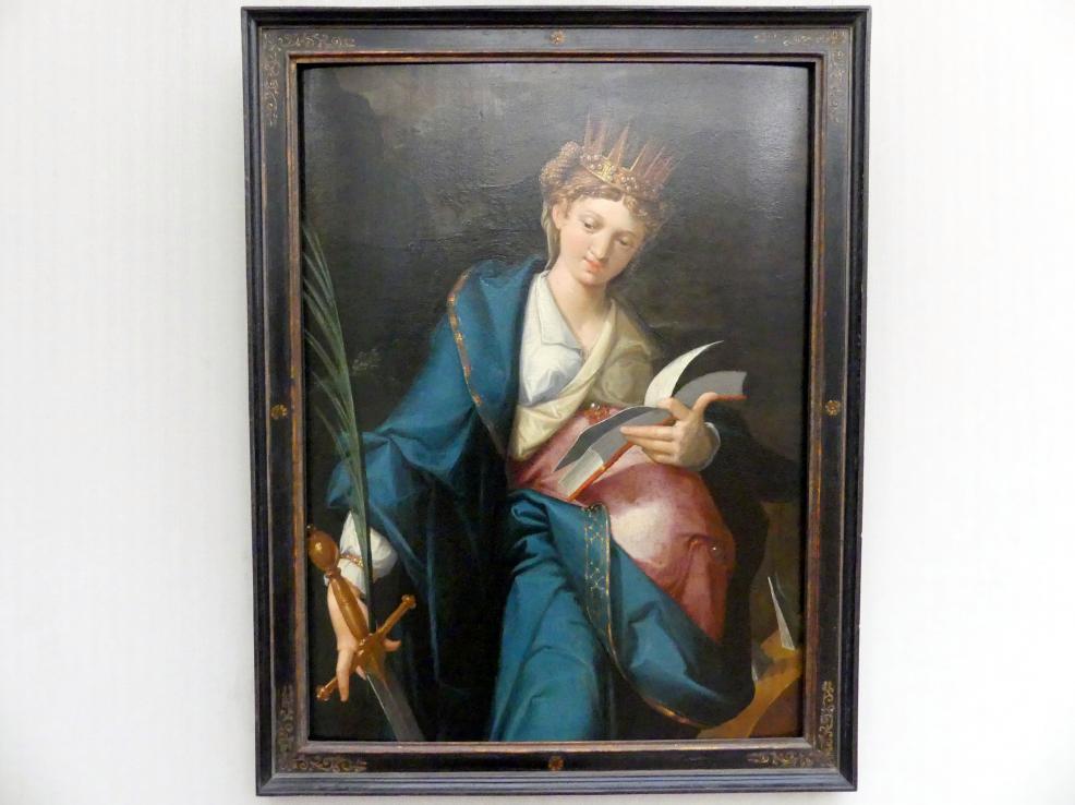Bartholomäus Spranger: Die hl. Katharina, um 1585