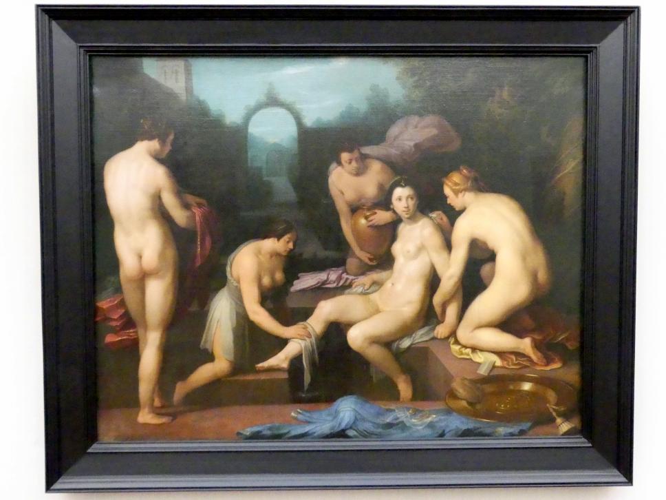 Cornelis van Haarlem: Bathseba im Bade, um 1617