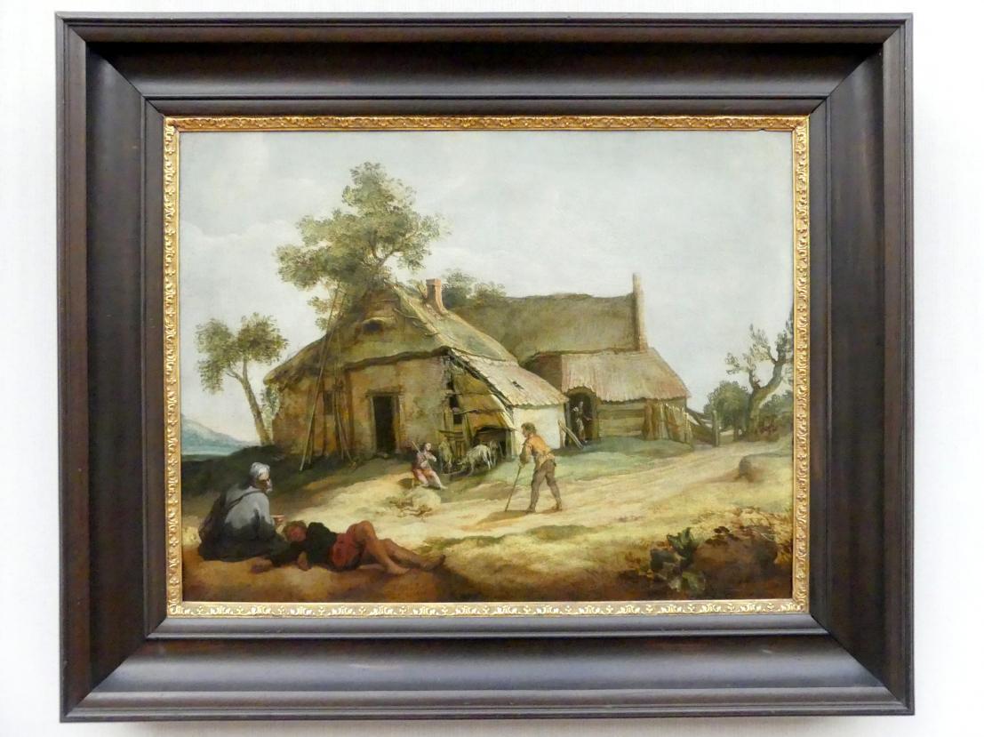 Abraham Bloemaert: Bauerngehöft mit dem Gleichnis vom Verlorenen Sohn, Um 1605 - 1610