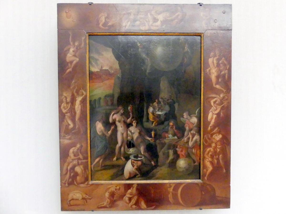 Frans Francken der Jüngere (Frans II Francken): Die Versuchung des hl. Antonius, Undatiert