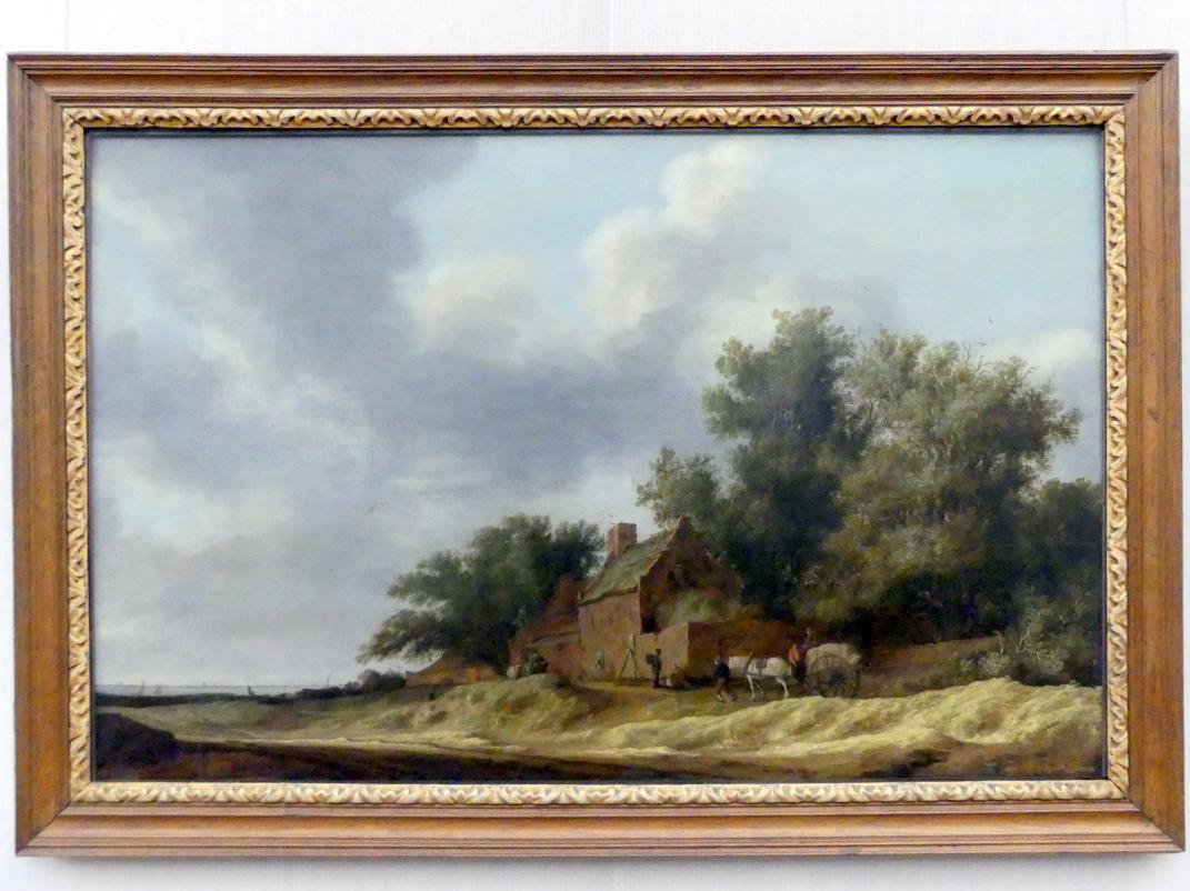 Salomon van Ruysdael: Landschaft mit Bauerngehöft, 1631