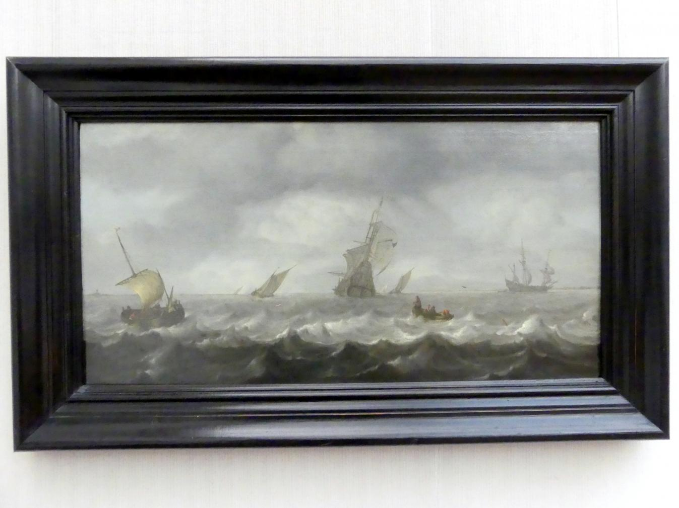Arnoldus van Anthonissen: Seestück, Undatiert