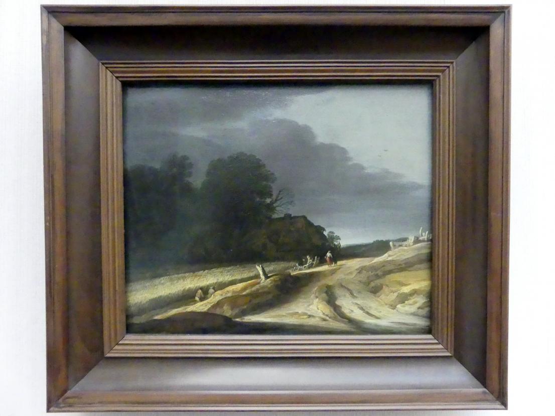 Pieter Dircksz. van Santvoort: Landschaft mit Feldweg und Bauernhaus, 1625