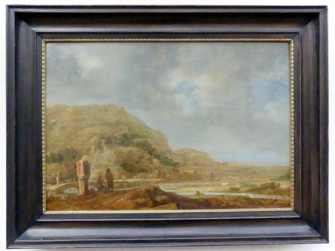 Pieter de Molijn: Landschaft mit Flußtal, 1639