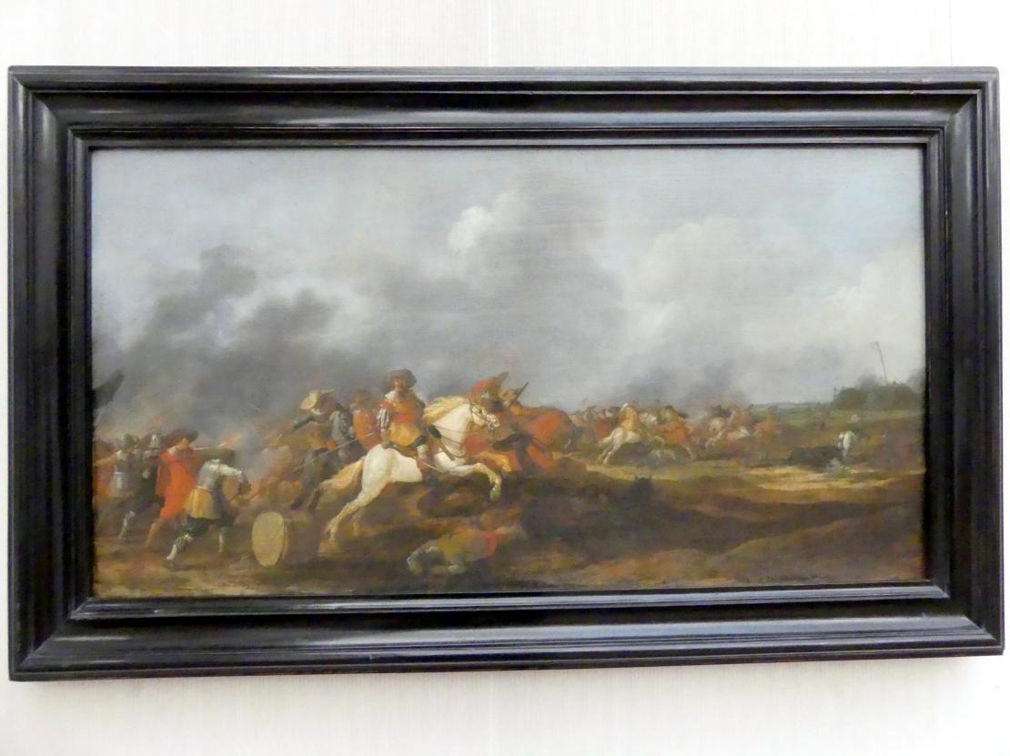Palamedes Palamedesz (Stevaerts): Gefecht zwischen Kaiserlichen und Schweden, 1630