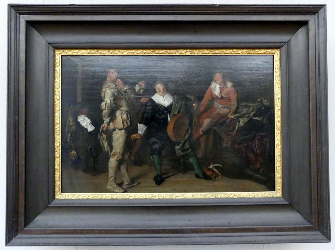 Pieter Codde: Schauspielergarderobe, um 1635