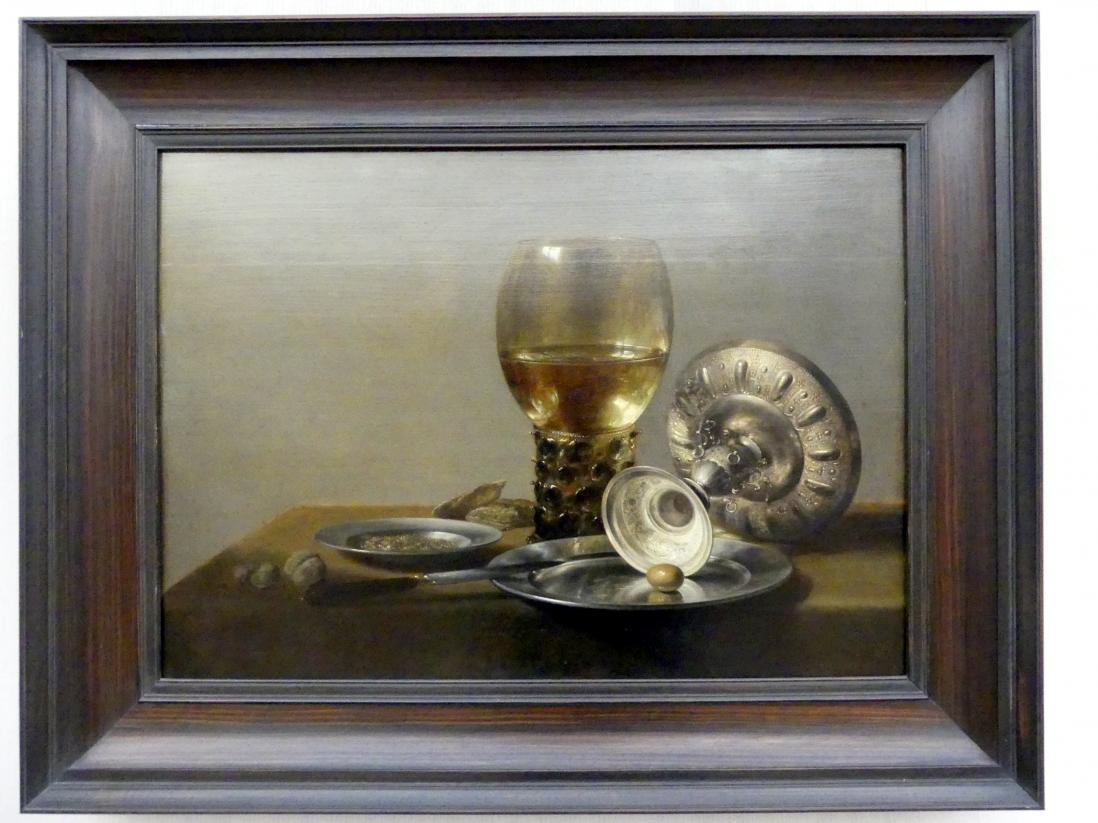 Pieter Claesz: Stillleben mit Römer und Silberschale, um 1635