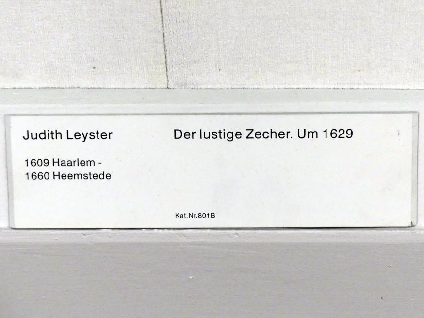 Judith Leyster: Der lustige Zecher, um 1629, Bild 2/2