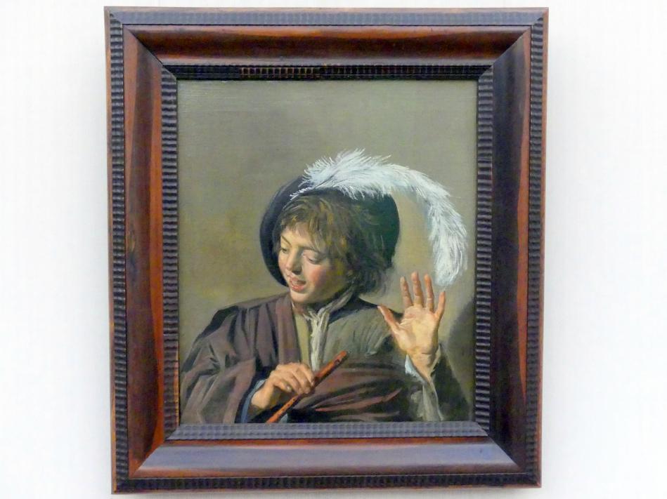 Frans Hals: Singender Knabe mit Flöte, um 1623 - 1625